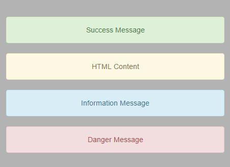 Lightweight Bootstrap Alert Overlay Plugin With jQuery