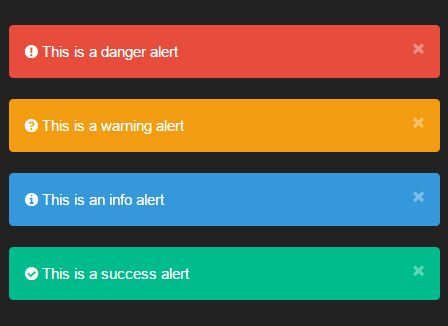 Manipulating Bootstrap Alerts With jQuery - bsalert