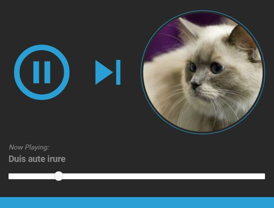 Bootstrap 4 Audio Player With Playlist - jQuery audioPlayer.js