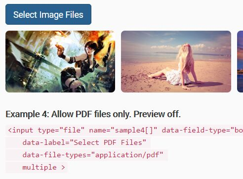 Bootstrap File Input Enhancement Plugin With jQuery