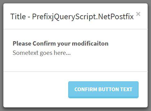 Dynamic Bootstrap Modal Creator - jQuery modalup