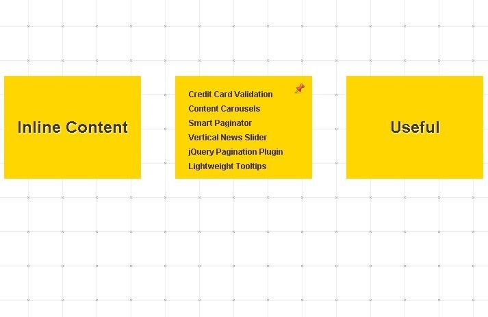 BoxyMenu - Links Box Navigation Menu