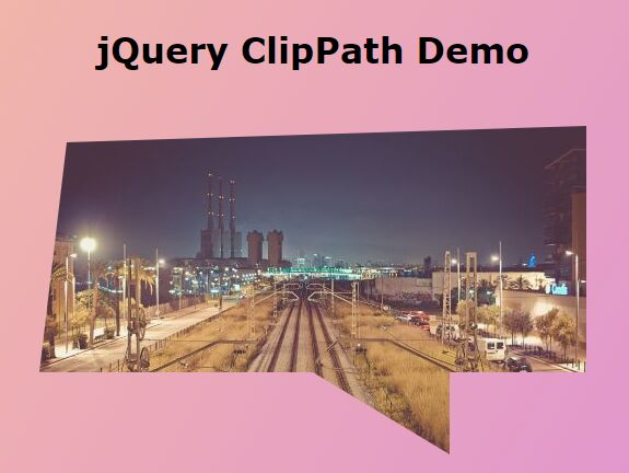 Cross-browser CSS3 Clip-path Polyfill - jQuery ClipPath