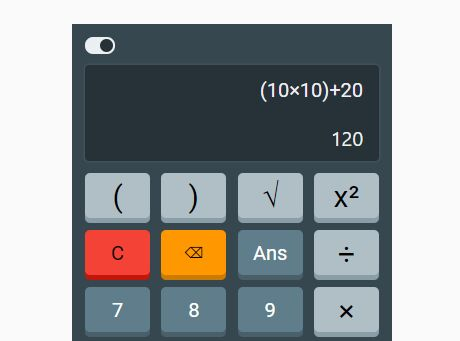 Minimal Calculator App With jQuery And Bootstrap 4