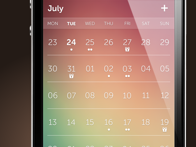 Calendario - Flexibel and Transparent Calendar Plugin