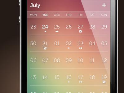 Calendario - Flexibel and Transparent Calendar Plugin