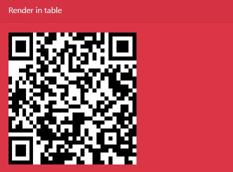 Canvas Or Table Based QR Code Generator - jQuery qrcode
