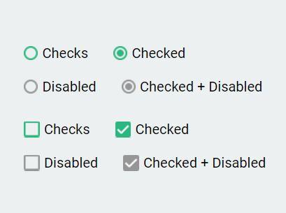 Custom Checkbox & Radio Inputs - jQuery Checks