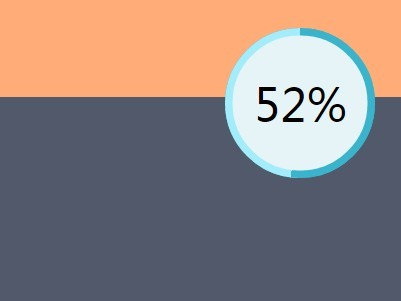 Circular Scroll Progress Indicator with jQuery and CSS3 - progressScroll