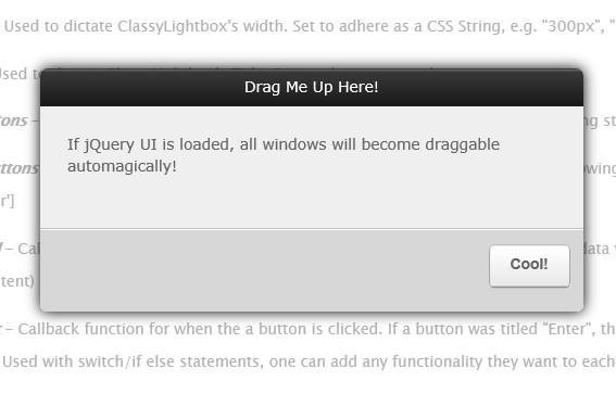 Clean and Powerful jQuery Lightbox Plugin - ClassyLightbox