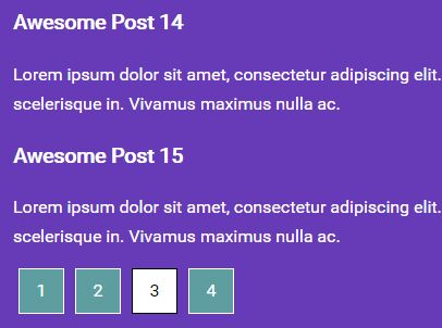 Easy Client Side Pagination Plugin For jQuery - Paginate.js