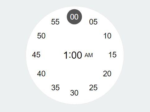 Minimal Clock Style Time Input Plugin With jQuery - clockInput