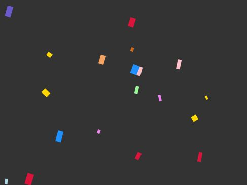 Confetti Animation Effect With jQuery And Canvas - Confetti.js