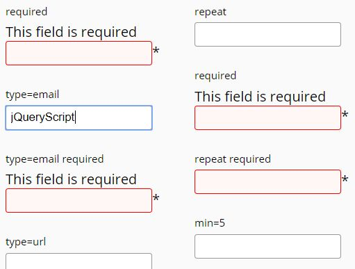 Easy Configurable Form Validator For jQuery - fm.validator.jquery.js