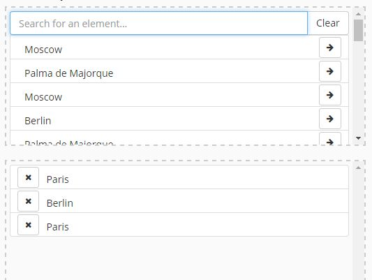 Convenient Data Selector With jQuery And Bootstrap - BoxAutocomplete Selector