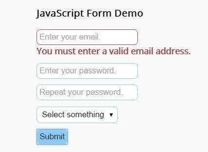 Convenient HTML5 Form Validation Plugin For jQuery - validation.js