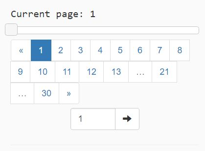 Convenient Pagination Plugin With Bootstrap And jQuery UI - Pagination.js