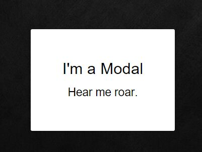 Cool Modal Animations with jQuery and CSS3