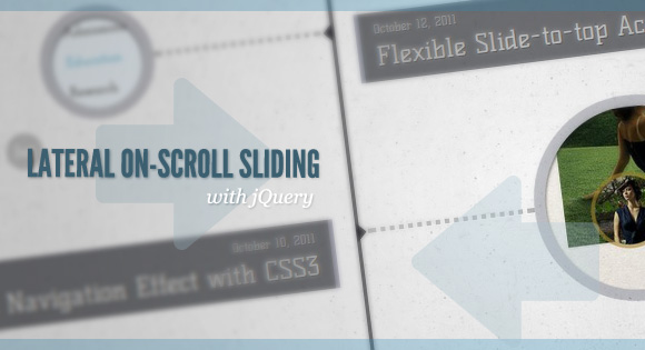 Cool Slide-In On Scroll Effect with jQuery