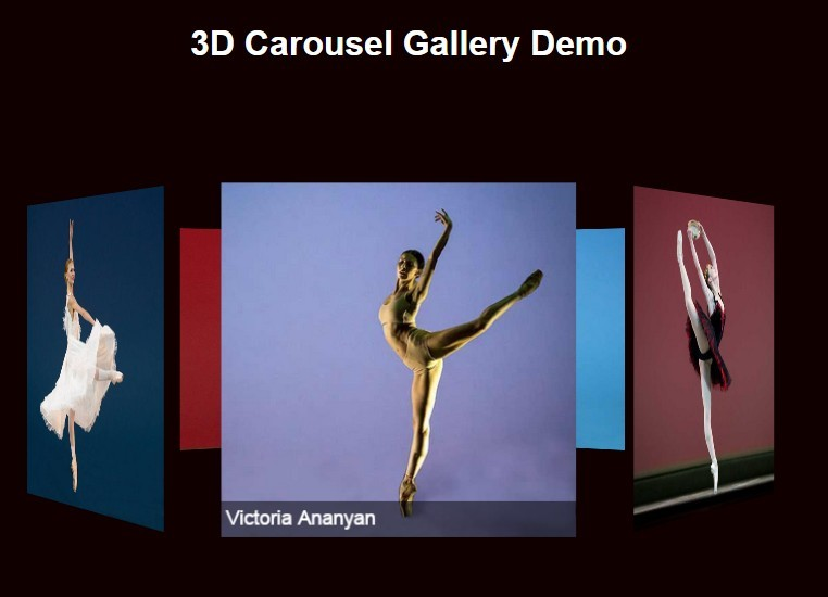 Coverflow-like 3D Carousel Gallery with jQuery and CSS3
