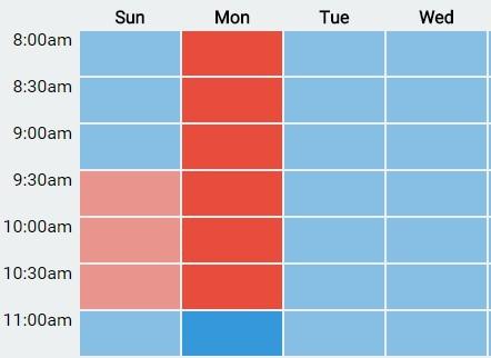 weekly calendar maker weekly calendar template