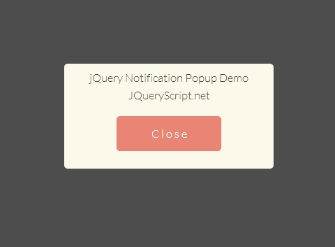 Create A Fullpage & Responsive Notification Box with jQuery and CSS3