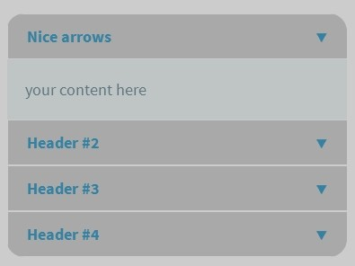 Create A Responsive Accordion with jQuery and CSS3 - Squeezebox.js