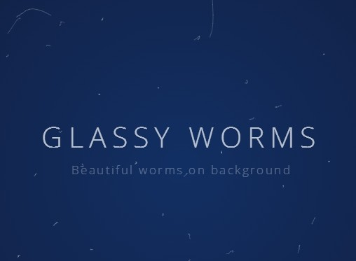 Create Animated Worms Background With jQuery and Html5