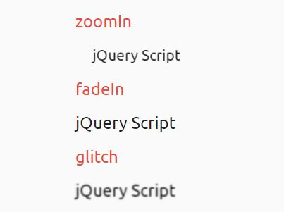 Create awesome text switch animations using jquery and - Jquery rotate div ...