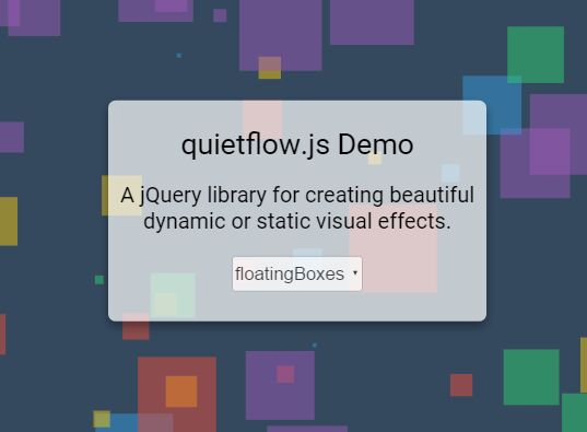 Create Cool Visual Effect With jQuery and Canvas - quietflow