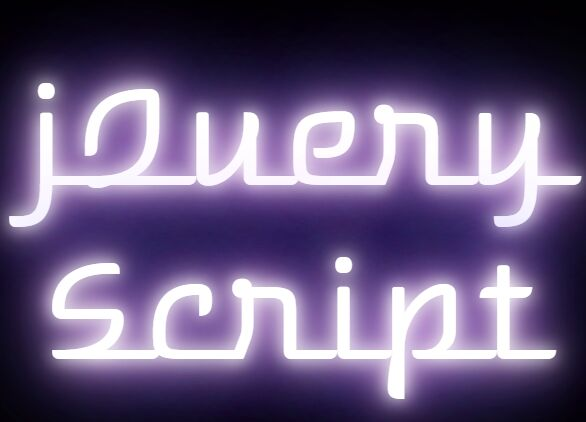 Create Neon Light Text Effect In jQuery - neon_text.js