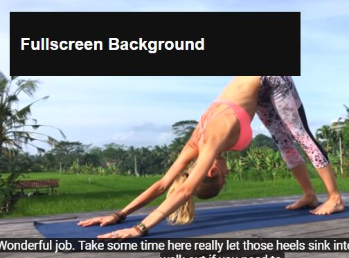 Create Responsive Fullscreen Backgrounds With jQuery