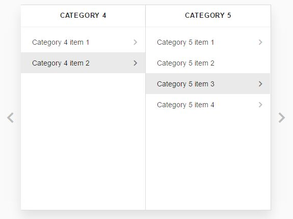 Create Responsive Material Style Miller Columns Using jQuery