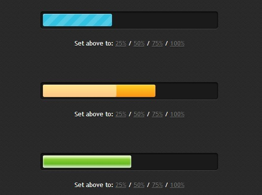 Create Stylish Animated Progress Bars with jQuery and CSS3