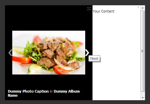 Creating A Image Viewer with Descriptions Like Facebook - jQuery FBPhotoBox