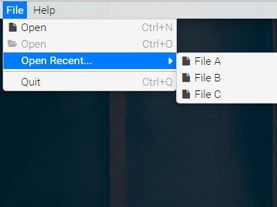 Creating A Multilevel File Drop Down Menu with jQuery - fileMenu
