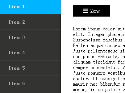 Creating A Simple Off-canvas Slide Panel Navigation with jQuery Pushy