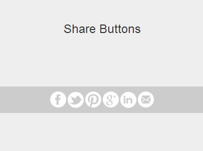 Creating A Simple Social Share Bar with jQuery Stoopid Social Plugin
