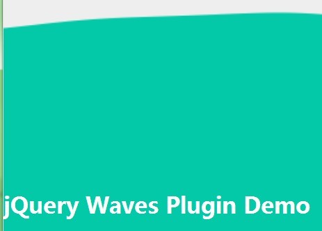 Creating Animated Waves Using jQuery and Canvas