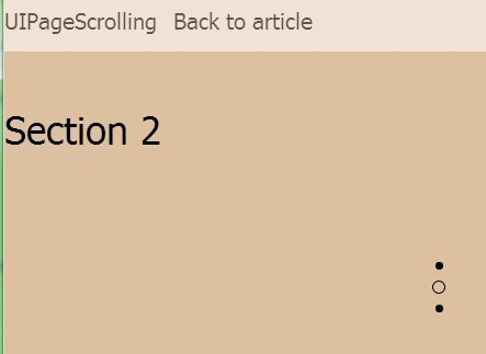 Creating Apple-Like Fullscreen One Page Scrolling Website with jQuery