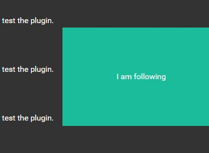 Creating A Floating Sidebar Panel With jQuery - sideFollow