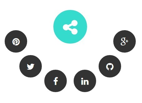 Creating Radial Social Share Buttons with jQuery - socialCircle