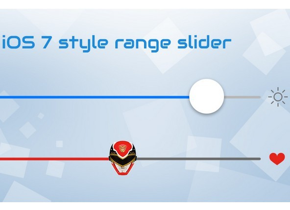 Creating iOS 7 Style Range Slider With Powerange.js