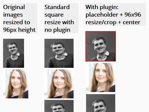 Resize & Re-center Image To Fit Its Container - jQuery