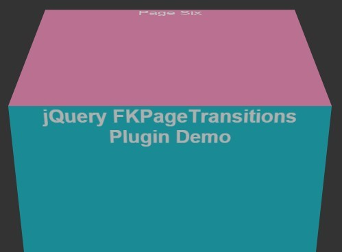 Cross-Platform Full Page Transitions with jQuery and CSS3 - FKPageTransitions