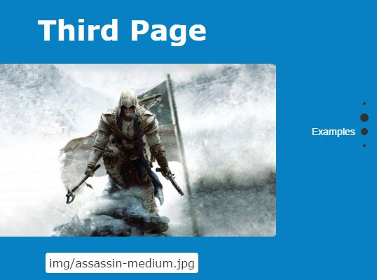Cross-browser One Page Scroll Plugin With jQuery - singleFull js