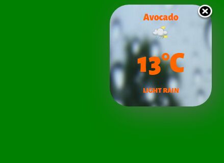 Current Local Weather Plugin With jQuery - Weather.js