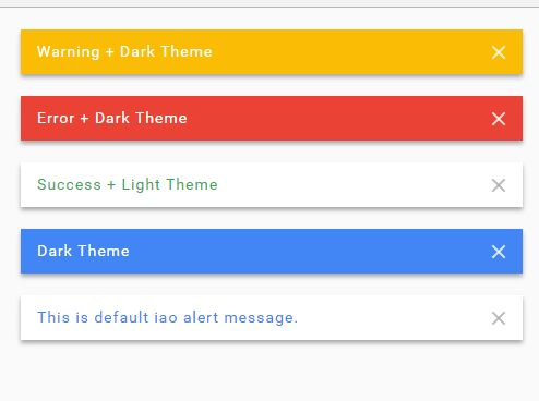Custom Alert Notification Plugin For jQuery - iao-alert