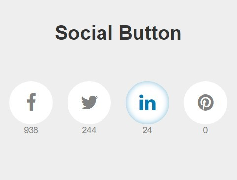 Custom jQuery Social Share Buttons with Counters