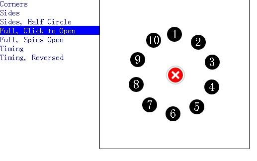 Customizable Circle Menu Plugin with jQuery